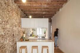 Nineteenth Century Barcelona Apartment Gets a Trendy Modern Upgrade