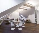 Small modern attic apartment in Vilnius