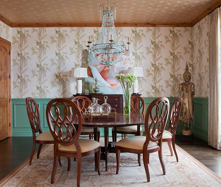 ... Smart Color Scheme In The Traditional Dining Room [Design: Andrea  Schumacher Interiors]