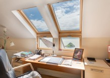 Smart compromise between the window and the skylight