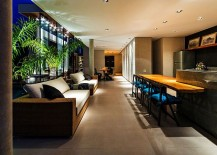 Smart design blurs the line between the interior and the pool deck