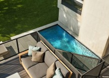 Smart pool and deck design makes use of available space