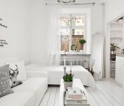 Smart use of space gives the small apartment an airy appeal