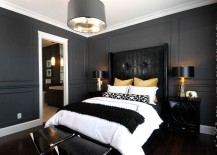 Sophisticated-use-of-black-gold-and-gray-in-the-bedroom-217x155