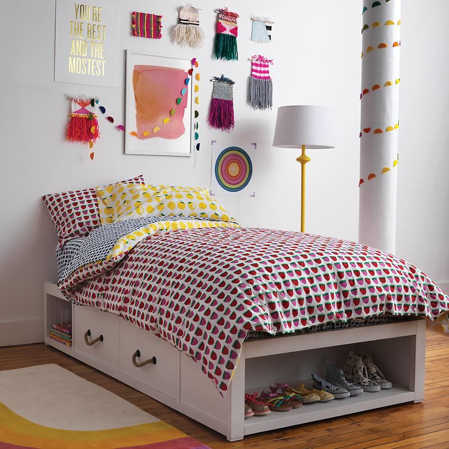 Storage bed from The Land of Nod