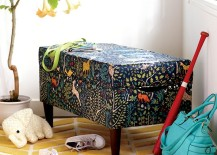 Storage bench from The Land of Nod
