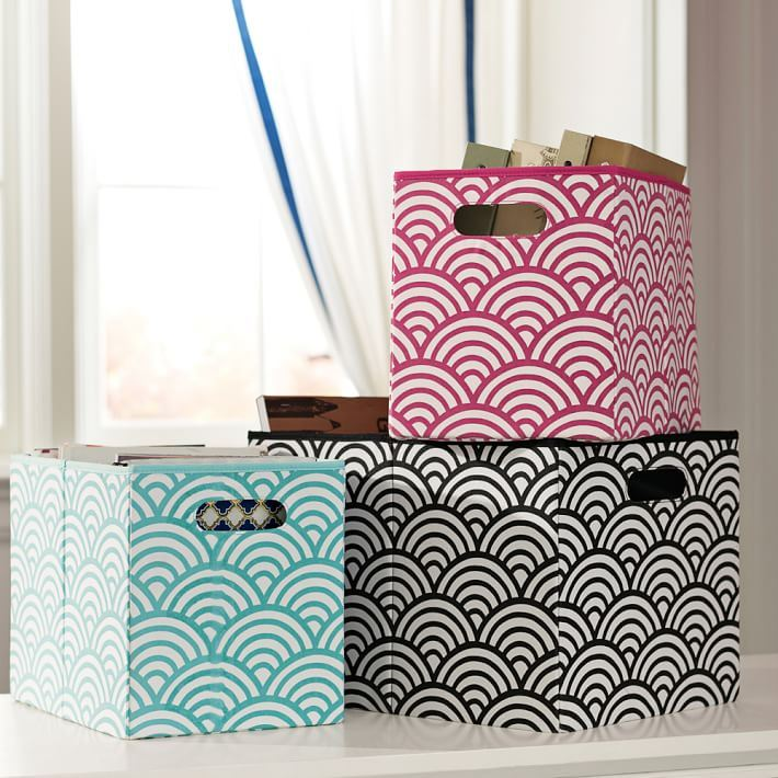 Storage bins from PBTeen