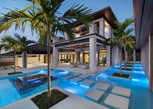 Stunning-pool-with-precast-concrete-pool-deck-and-stepping-stones-217x155