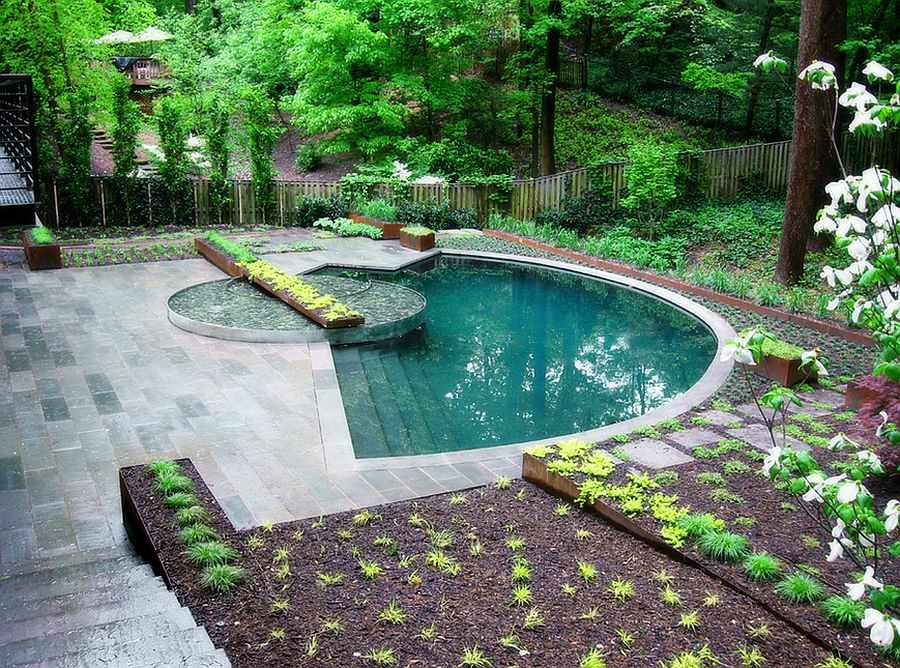 Style and size of the pool make it an absolute delight! [Design: Lewis Aquatech]
