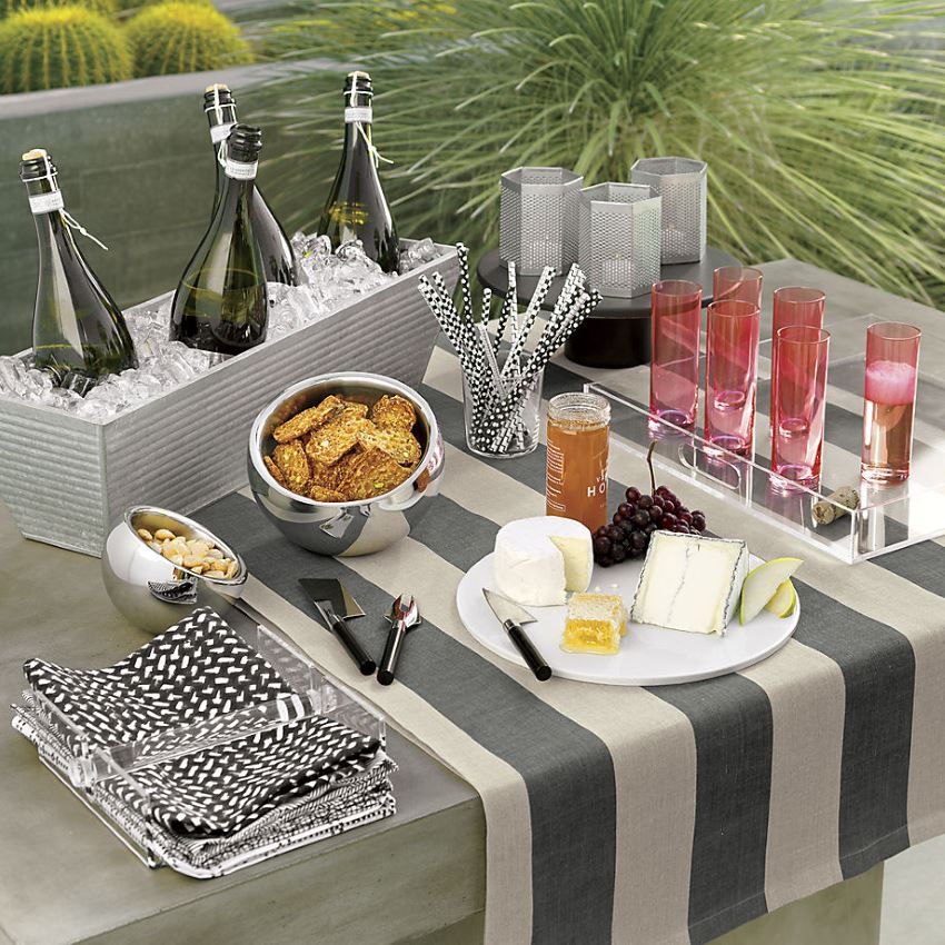 Tableware from CB2 Sensational Serveware for Spring