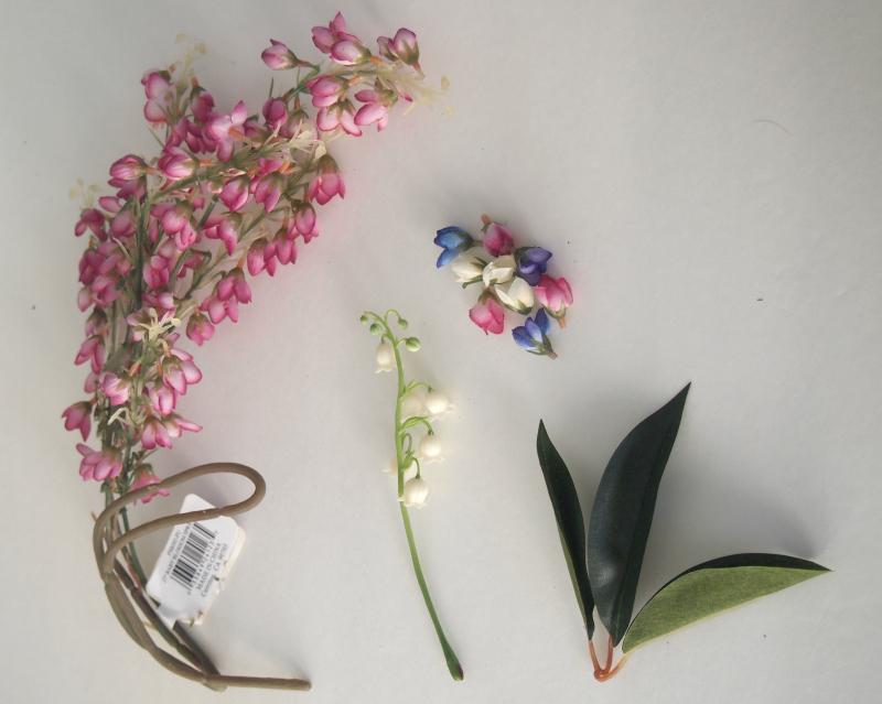 Take flower buds apart