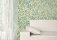 Tempaper Wallpaper Soft Tree Pattern