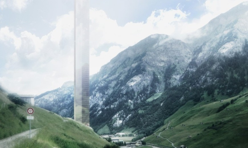 7132 Tower in the Swiss Alps to Become the Tallest Building in Europe (If Approved)