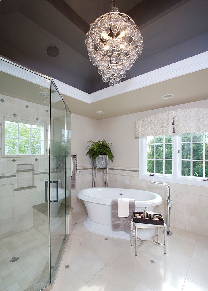 Bathroom Chandeliers Black 25 sparkling ways of adding a chandelier to your dream bathroom