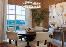 Unique-wallpaper-brings-the-texture-of-cork-to-the-dining-room-217x155