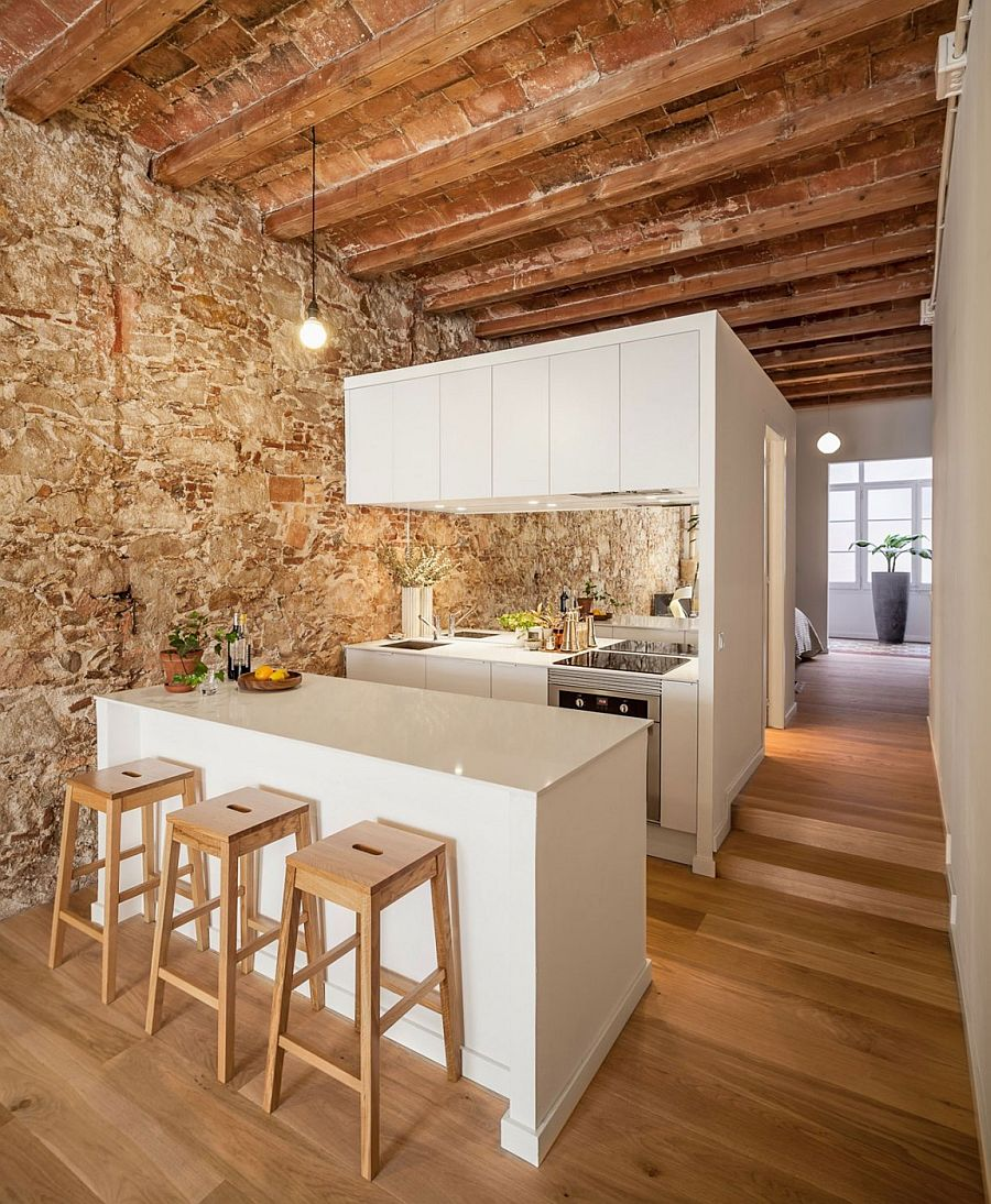 Nineteenth Century Barcelona Apartment Gets A Trendy