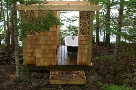 Simple Luxuries: 10 Killer Outdoor Showers