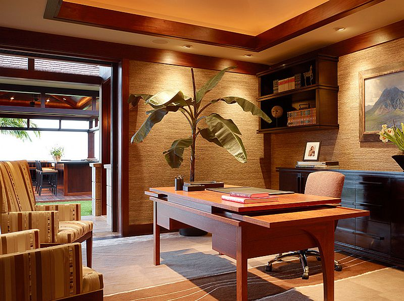 Merveilleux 10 Ways To Go Tropical For A Relaxing And Trendy Home Office