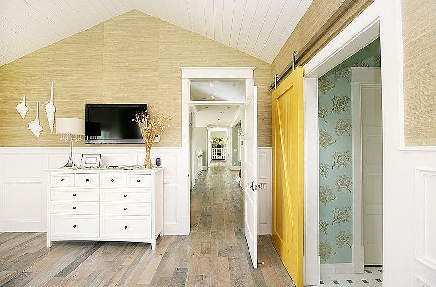 25 Bedrooms That Showcase The Beauty Of Sliding Barn Doors