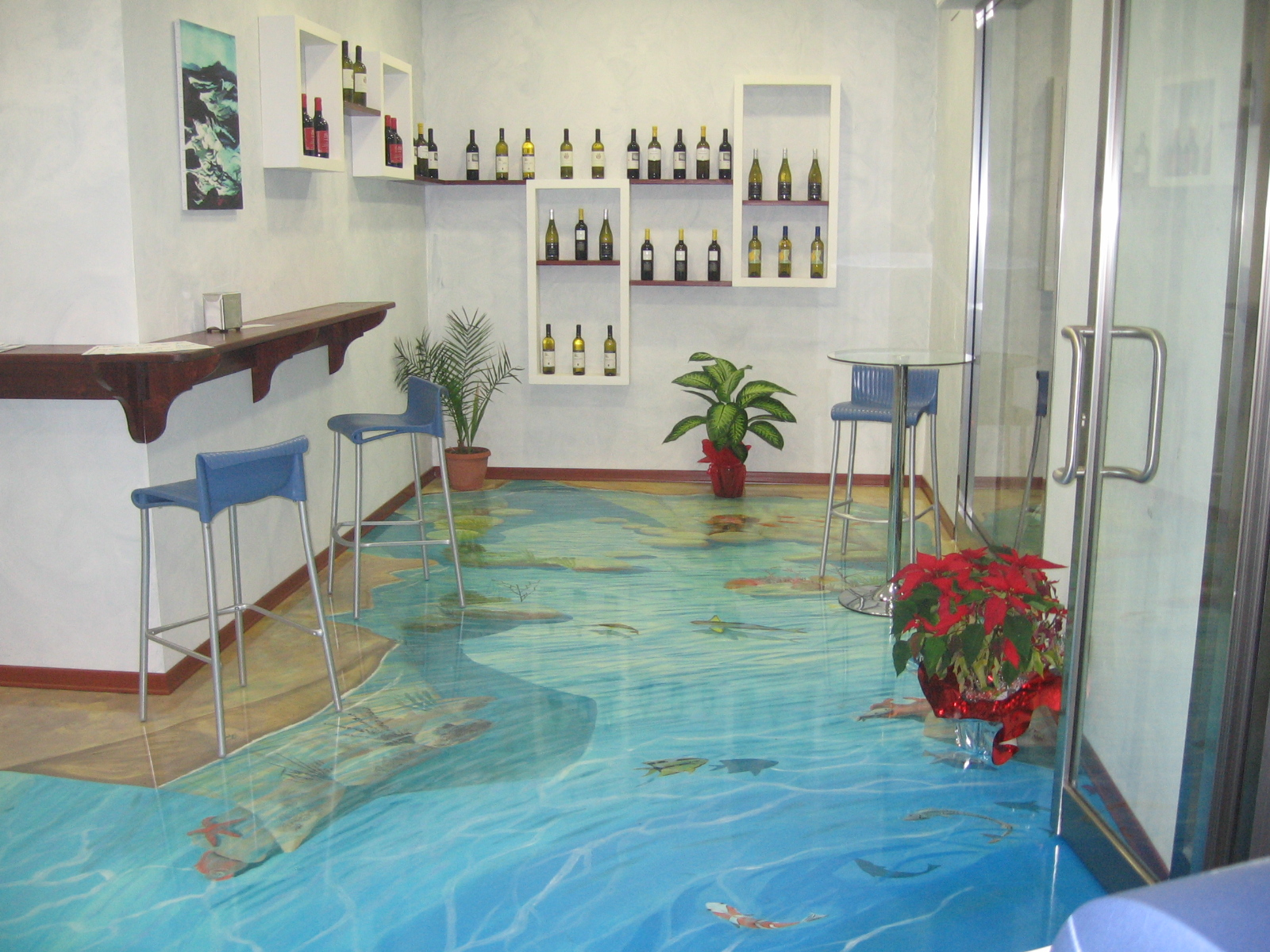 Turn any room into a stunning work of art with 3d epoxy for Pisos decorativos para interiores
