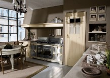 Artisanal Modula Kitchen inspired by Mediterranean design by Marchi