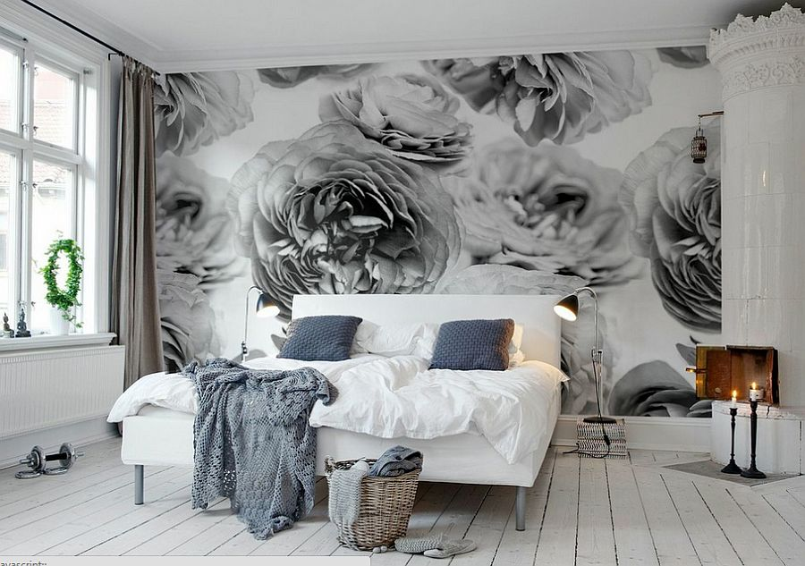 Backdrop in the bedroom leaves you spellbound [From: Rebel Walls]