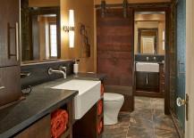 Beautiful-bathroom-barn-door-crafted-from-reclaimed-Black-Walnut-lumber-217x155