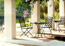 Black-wrought-iron-dining-sets