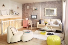 Going Shabby Chic: Trendy Manhattan Triplex Shows You How!