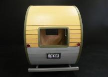 Cat Nap Miniature Cat Trailer Home