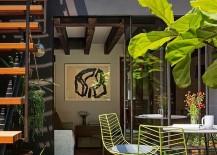 Caviar-Warehouse-Loft-with-Stunning-Rooftop-Garden-Green-Chairs-217x155