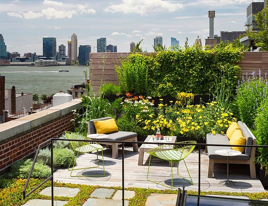 Caviar Warehouse Loft with Stunning Rooftop Garden View of River
