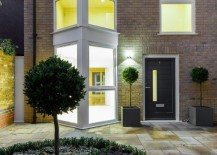 Charming modern topiaries 217x155 The Art of Decorating a Front Entrance