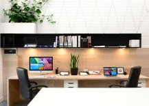 Compact home office design focuses on functionality