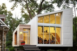Inspired, Small-Budget Contemporary Home with Efficient Sustainability