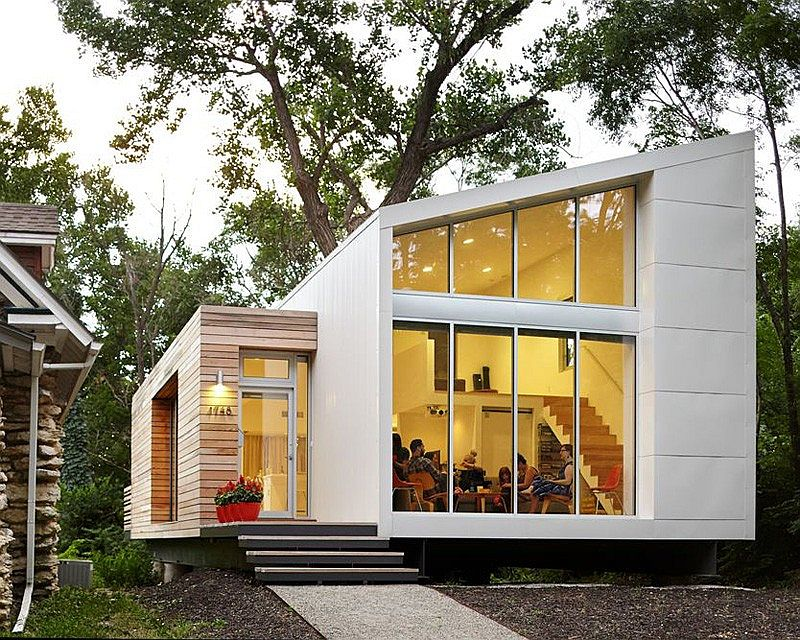Contemporary Madison Residence in Kansas City Inspired, Small Budget Contemporary Home with Efficient Sustainability