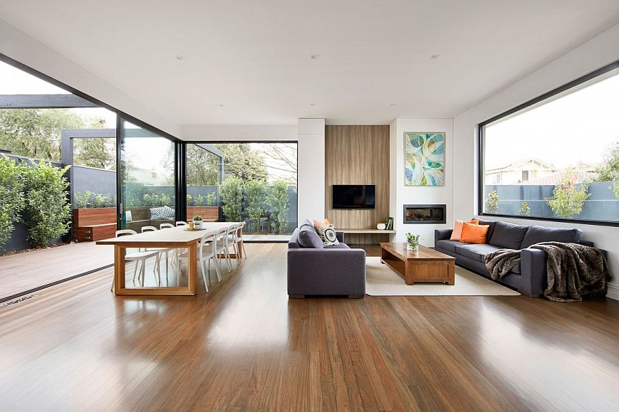 Modern Renovation Transforms Melbourne S Brick Federation