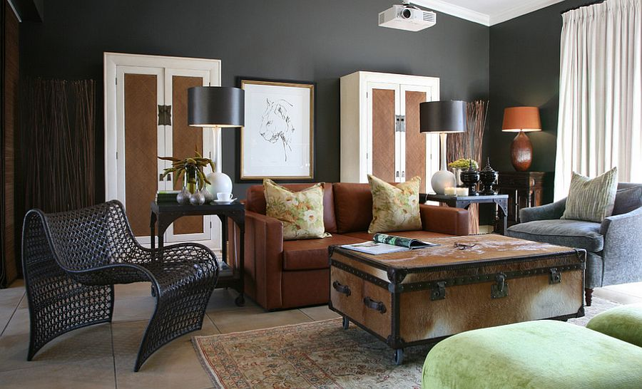 ... Custom Coffee Table With Storage Space! [Design: Andre Kleynhans  Interiors]