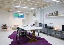 Custom-crafted-table-with-pedastal-legs-and-contemporary-table-top-in-the-home-office-217x155