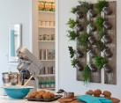 DIY herb garden with mason jars for the modern home [Design: Portico Design Group]