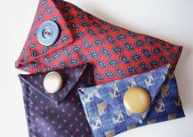 DIY necktie eyeglass case tutorial
