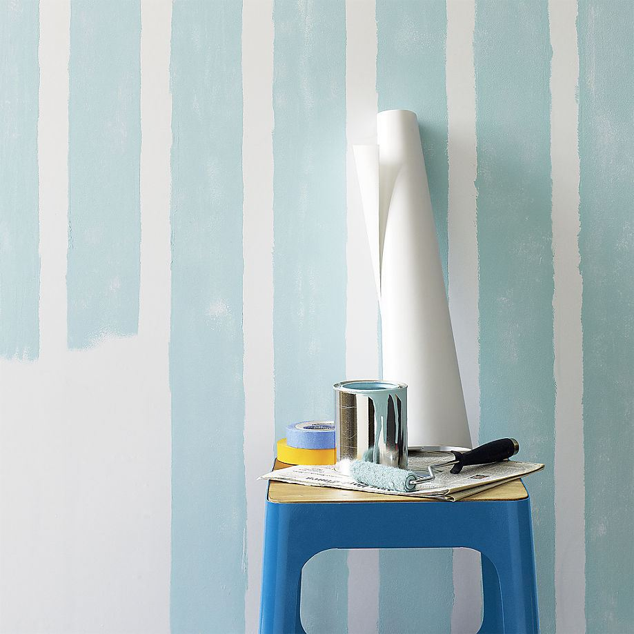 DIY wallpaper from CB2  Easy Wall Decorating Ideas for Renters DIY wallpaper from CB2