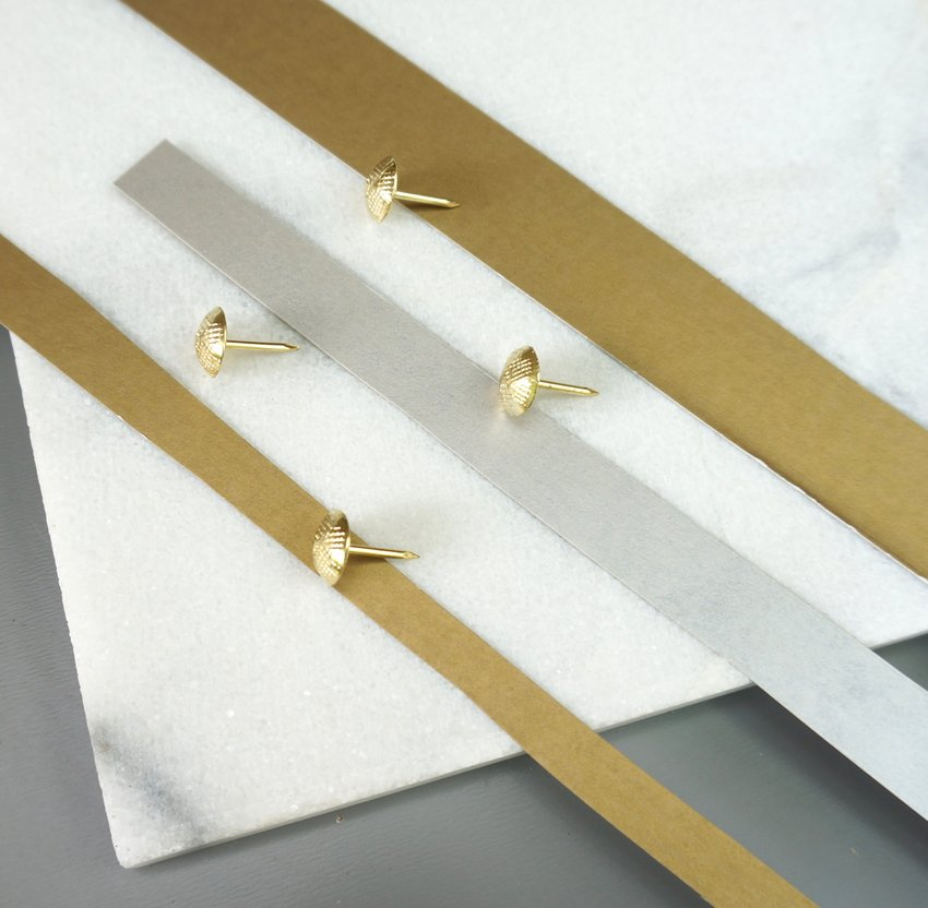 DIY with brass tacks
