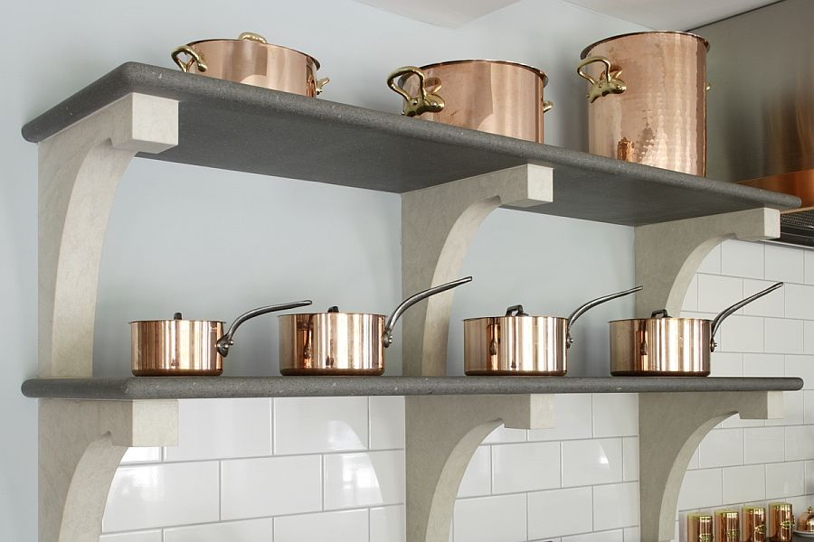 Decorate your kitchen with copper brilliance