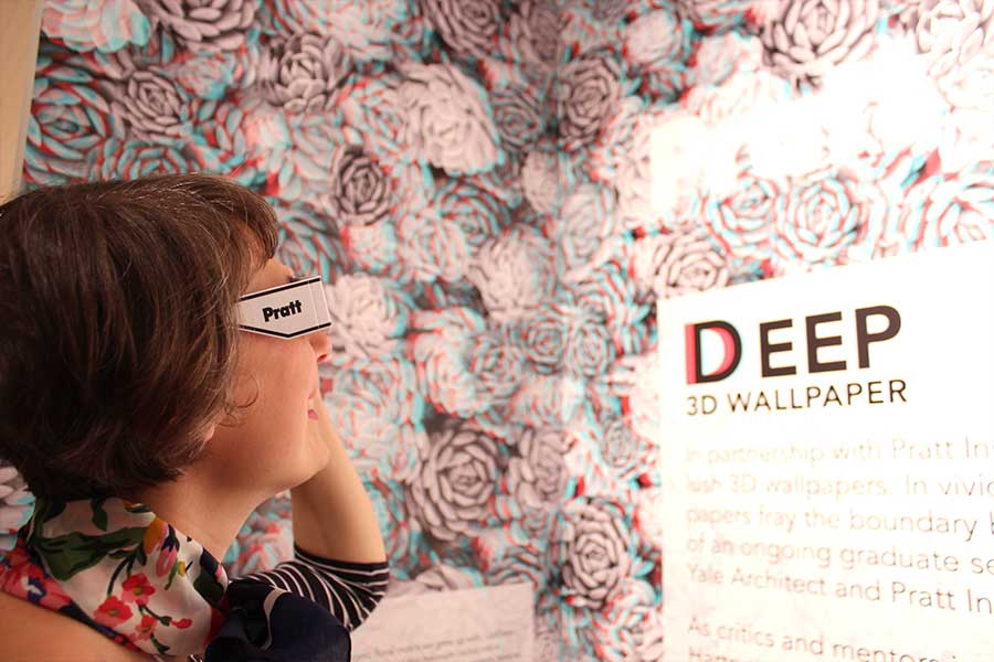 Deep 3D Wallpaper by Pratt and Twenty2