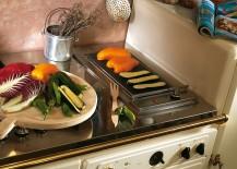 Efficinet kitchen countertops with engaging backsplash