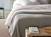 Eileen Fisher Organic Cotton Coverlet Natural