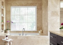 Elegant bathroom of blogger Camille Styles
