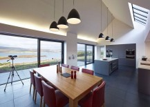 Exquisite views from the contemporary home in Skye