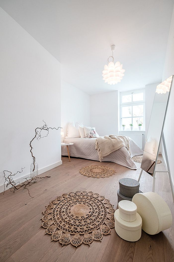 ... Fabulous Bedroom Draped In Scandinavian Minimalism [Design: Wohn.Fee  Home Staging]
